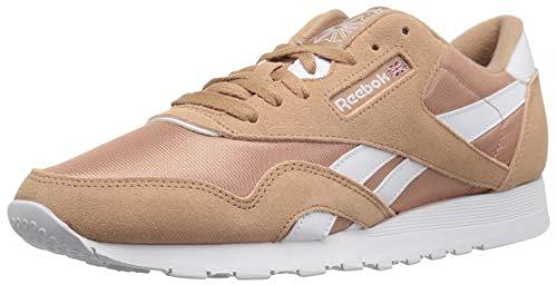 - Reebok Men's Classic Nylon Walking Shoe, sf-Bare Brown/White, 10 M US