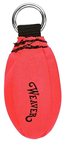 Weaver Leather Throw Weight, Orange, 14 oz - Throw Rope Bag