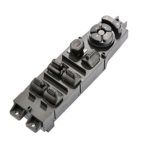 Master Power Window Switch 56049805AB for 2003 2004 2005 2006 2007 2008 2009 Dodge Ram 1500 2500 3500 Truck, 2001-2004 Dodge Dakota, 2001-2003 Dodge Durango, w/Mirror Adjust & Auto Down Control