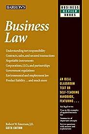 Business Law (Barron's Business Rev