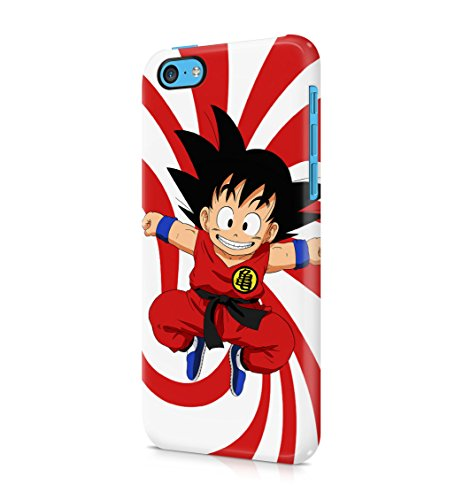 Dragon Ball Z Child Goku Hard Plastic Snap-On Case Cover For iPhone 5c (Goku Children)