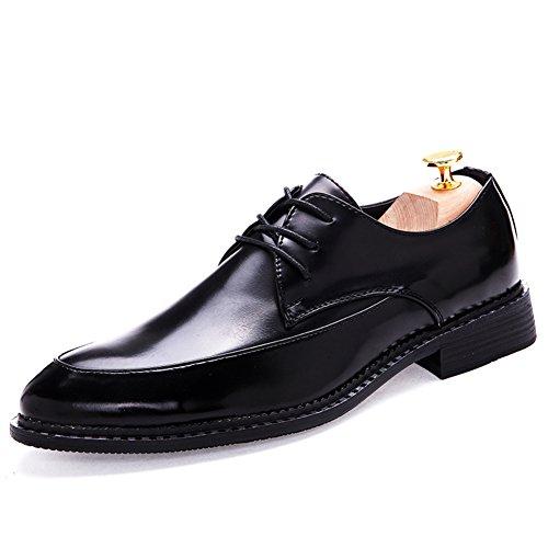 Xia Qiuying marea zapatos/Zapatos casuales de negocios/Zapatos con cordones Casualesesese acentuados Negro