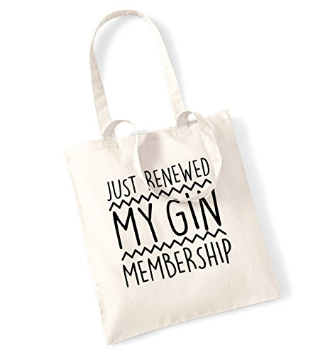 tote my gin Natural bag renewed membership Just q4aAwpIx