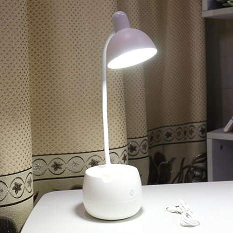 Lámpara de mesa creativa con soporte para bolígrafo táctil lámpara ...