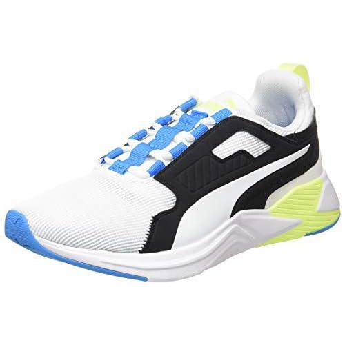 chollos oferta descuentos barato PUMA Disperse XT Men s Zapatillas de Gimnasio para Hombre Blanco White Nrgy Blue Fizzy Yellow 44 5 EU