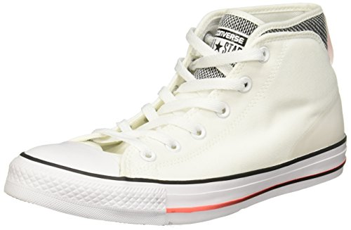 Converse Unisex Chuck Taylor All Star Syde Street Mid Sneaker Weiß