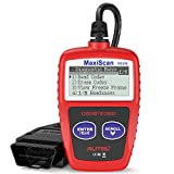 Autel MaxiScan MS309 Universal OBD2 Scanner Car Engine Fault Code Reader, Reading & Erasing Codes, Viewing Freeze Frame Data and Retrieving I/M Readiness Smog CAN Diagnostic Scan Tool