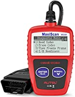 Autel MS309 Universal OBD2 Scanner Check Engine Fault Code Reader, Read Codes Clear Codes, View Freeze Frame Data, I/M...