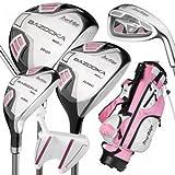 Tour Edge Ht Max-J Junior Golf Sets 3 Wds/3 Irns/Putter/Bag Right