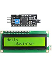WayinTop 16x2 1602 2004 20x4 Pantalla del Módulo LCD con Adaptador de Interfaz Serial IIC I2C TWI para Arduino Mega 2560