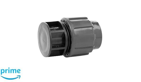 Rc Junter 5032 Enlace Rosca Macho 32 mm Negro 15x10x6 cm