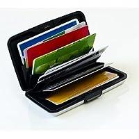 MaxBox - Funda para tarjetas de aluminio, color weiß