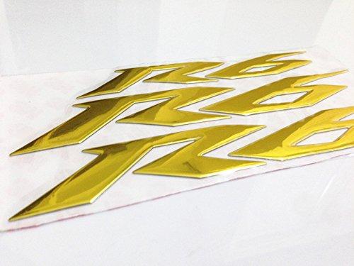 3d Emblem Gas Tank Sticker Decal for Yamaha YZF R6 Gold