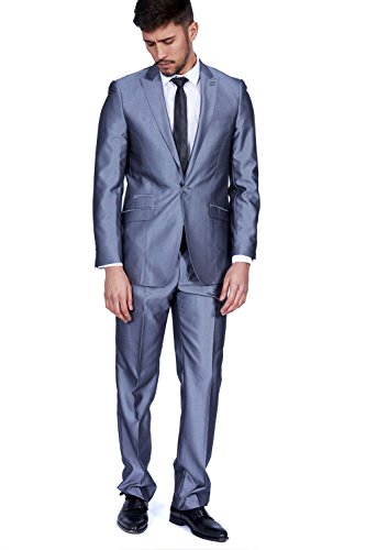 Marc Darcy - Costume - Costume - Homme gris gris Auditor's Target Value