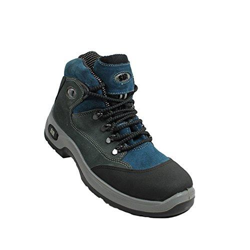 S3 Trekkingschuhe Sicherheitsschuhe Blau Berufsschuhe Businessschuhe Blau Safety Arbeitsschuhe System SIR ECfqn