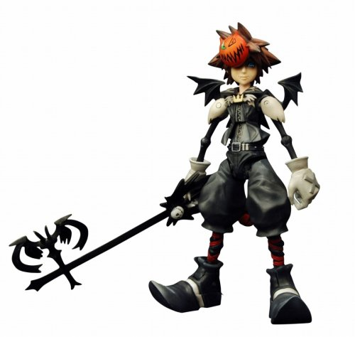 Kingdom Hearts 2 Play Arts Halloween Town Sora Figure]()