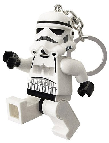 LEGO Star Wars Stormtrooper LED Key Light - 3 Inch Tall Figure