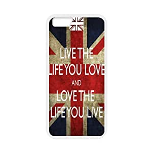 "Love the Life You Live Quotes New Style - iPhone6 4.7"" TPU (Laser Technology) Case Cover Skin"
