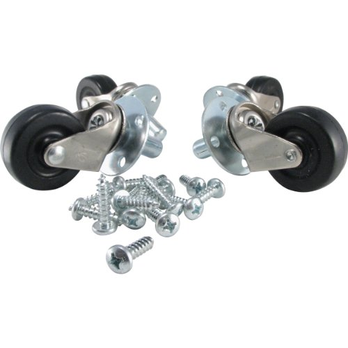 Ernie Ball Amp Casters Pop-In, Set of - Ball Caster Wheel