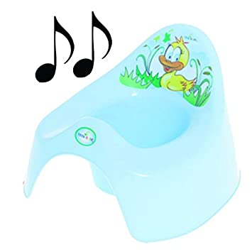 Leicht Zu Reinigen Kleinkind Tier Ente Geschenk musikalischen Töpfchen Toilette