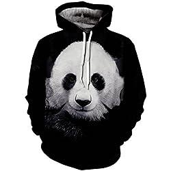 Unisex Realistic 3d Digital Pullover Sweatshirt Hoodie Hooded Sweatshirt Zip up Hoodie-DX029-XXXL
