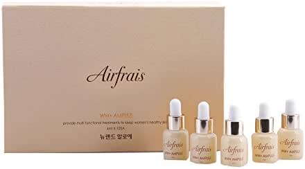 airfrais WW+ Ampoule, 6 ml x 12ea - Double Functional Cosmetics for Whitening & Wrinkle improvement