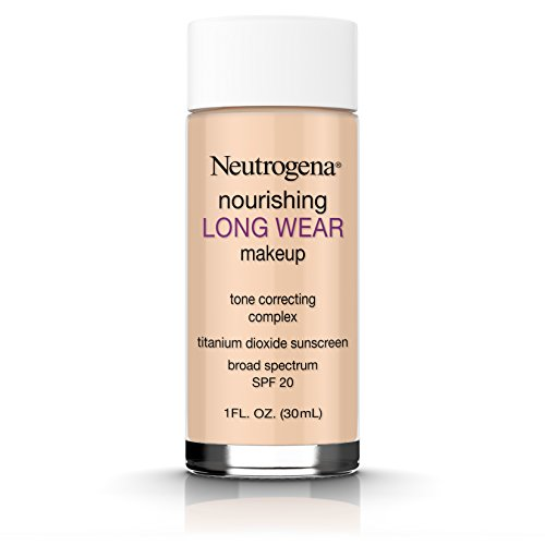 Neutrogena Nourishing Long Wear Liquid Makeup Foundation With Sunscreen, 60 Natural Beige, 1 Fl. Oz.