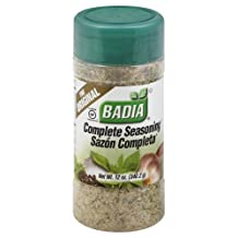 Badia Complete Seasoning 12 OZ (Pack of 2) by Badia