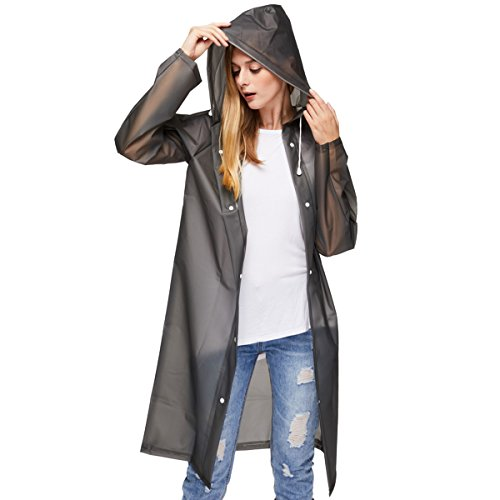 Raincoat Rainwear (UNIQUEBELLA Reusable EVA Raincoat Unisex Waterproof Rainwear)