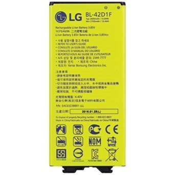 LG Replacement Battery for LG G5,Bulk Packaged (BL-42D1F) (For Phones Lg Cell Batteries)