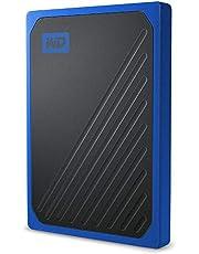 Western Digital Wdbmcg5000Abt-Wesn Passport Go Solid State Drive, 500Gb, Blauw