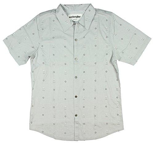 Portal Aperture Laboratories Video Game Men's Short sleeve Button Up Shirt (Small)