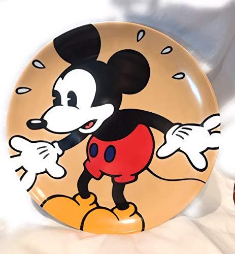 Disney Classics Designed By Brenda White Mickey Mouse Ceramic Plate 10.5
