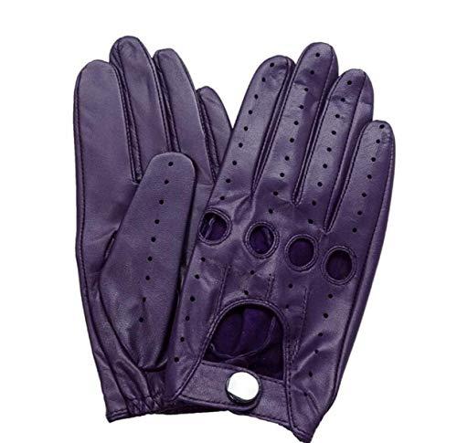 Purple Guanti Motion Full Ciclismo Per Accogliente Esterni Battercake Da Femminile In Pelle Traspirante Bxawa7qEd