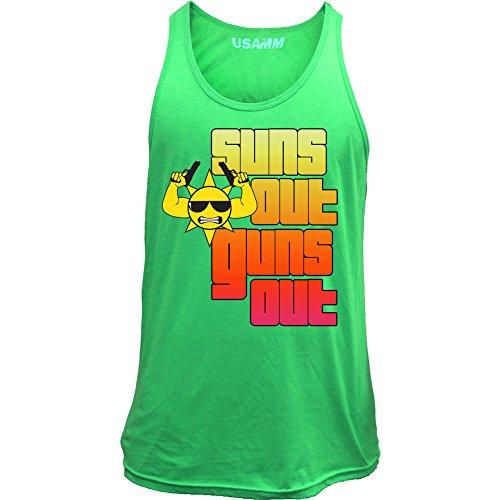 Classic Suns Guns Mens Tank