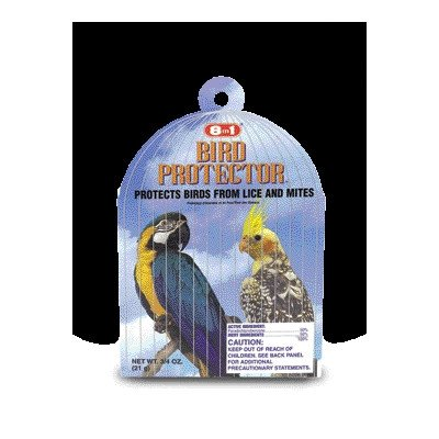 Bird Protector [Set of 2] Size: 0.75 oz. by eCOTRITION