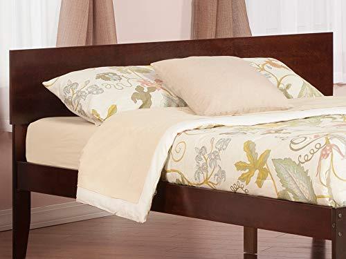 Bedroom Atlantic Furniture AR281854 Orlando Headboard, King, Walnut farmhouse headboards