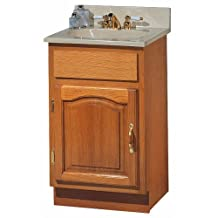 FOREMOST GROUPS DVAT1816 Oak Vanity Combo