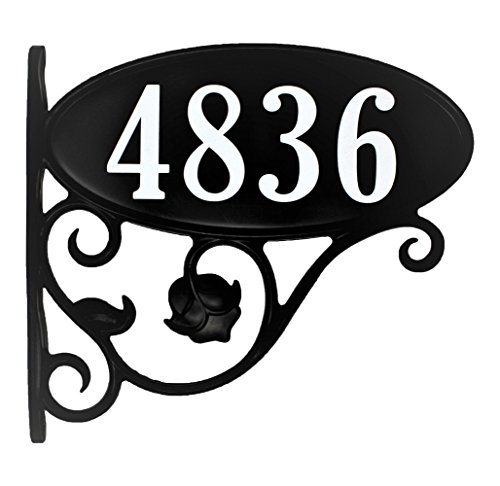 USA Hand-Crafted Custom Made Double Sided Park Place Super Reflective Mailbox Address Sign - Large 4