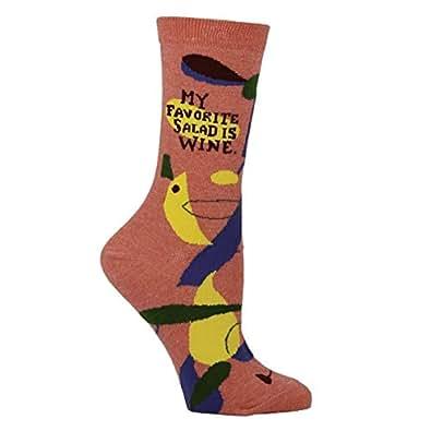Blue Q Crew Socks Blue Size: 5