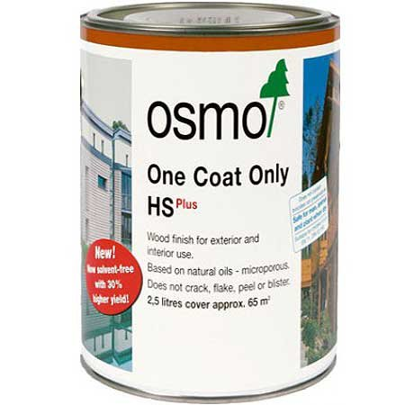OSMO One Coat Only HS-Plus - PINE - .75 Liter (One Satin Coat)