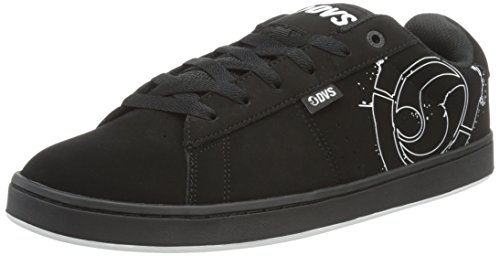 Shoe DVS Schwarz Black White Skateboarding Varies Black Men's Revival APPAREL Black qw1wI4F