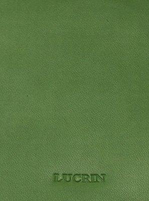 Violet Accroche Vert en pochon cuir Lucrin Cuir et sac son Clair Lisse 70F40