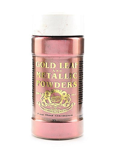 Gold Leaf & Metallic Co. Metallic and Mica Powders fire red oxidized 2 oz.