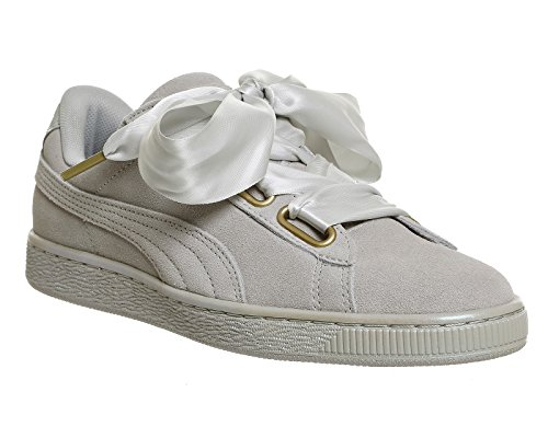 Puma Mode Femme Basket Heart Safari Suede Gris pIpZP