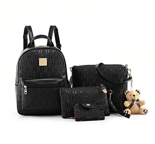 sac souple décontracté cuir mode Sac multifonctionnel des sac 30cm dos 14 main en de femmes à 23 la PU à 7AAqFzWX