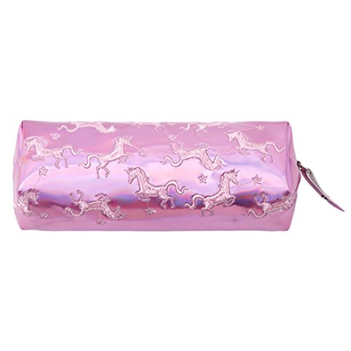 VWH Unicorn Girls Cosmetic Bags Pencil Case School Supplies