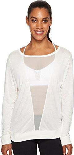 Reebok Women's Mesh Long Sleeve Tee Chalk X-Large ()