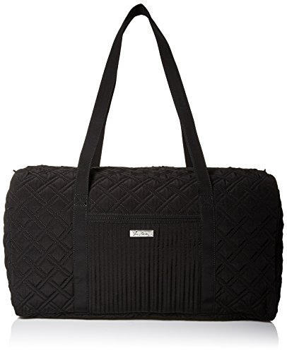 Vera Bradley Large Duffle Bag, Classic Black, One Size