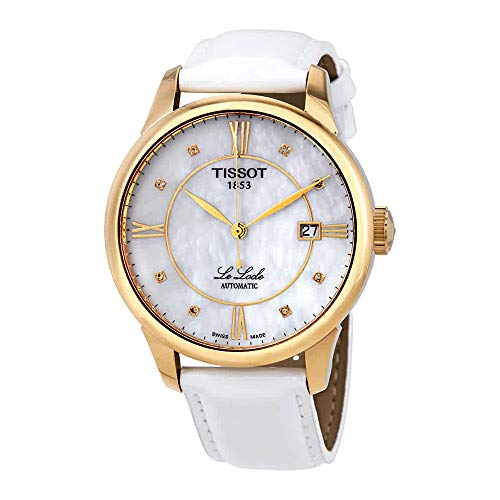 (Tissot Le Locle Automatic Mother of Pearl Diamond Dial Ladies Watch )